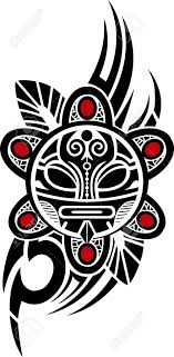 tribal tattoos taino sun tribal vector illustration
