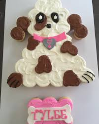 puppy pull apart cupcake cake by tres sweet cakes pinterest