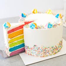 rainbow cake 48 baker u0027s brew