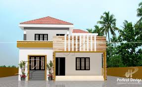 Home Design 150 Sq Meters by 1614 Sq Ft Double Floor Home U2013 Kerala Home Design
