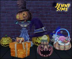my sims 4 blog halloween decor by jennisims