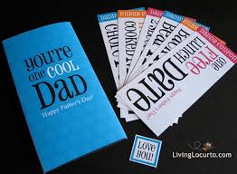 father u0027s day coupon card party printables by amy birthday