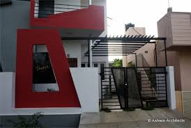 modern duplex house design in bangalore india by ashwin