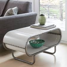 sheet metal coffee table tooble by doug meyer metal coffee table low tv stand sheet metal