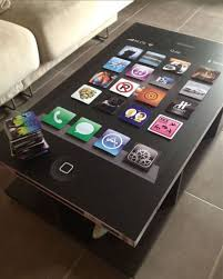 Funny Coffee Tables - homemade iphone inspired coffee table the itable 6 pics