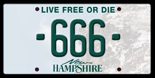 Banned Vanity Plates Banned License Plates In New Hampshire