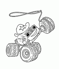 monster trucks coloring pages blaze monster truck starla coloring page for kids transportation
