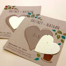 seed paper wedding favors herb rustic plantable wedding favor ecopartytime