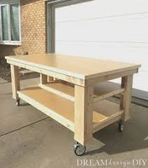 rolling work table plans super workbench rolling workbench workbench plans and woodworking