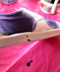 how to paint galaxy shoes with fabric dye tutorial kit kraft