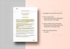 franchise agreement template u2013 10 free word pdf documents