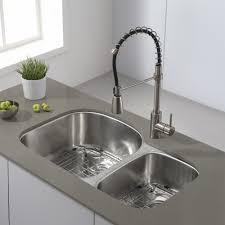 premium kitchen faucets kraus kpf 1612ss premium kitchen faucet stainless steel pro pre