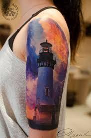 Lighthouse Tattoo Ideas 30 Lighthouse Tattoo Ideas Tattoo Body Art And Sailing Tattoo