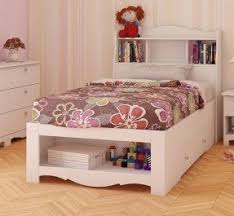 Storage Bed With Headboard Storage Bed With Bookcase Headboard Foter