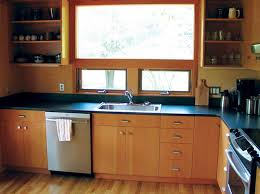 douglas fir kitchen cabinets douglas fir kitchen cabinets with black countertop home interior