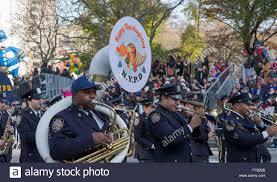 new york ny usa november 26 2015 nypd marching band at the 89th