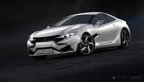 mitsubishi supercar 2015 mitsubishi eclipse r sd concept is a realistic looking design