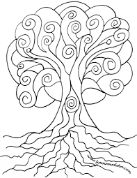 8 images of free coloring page of tree of life celtic tree of