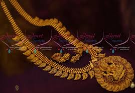 nl11135 temple south indian imitation jewellery ornaments matte
