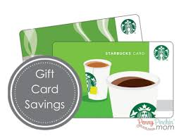 starbuck gift card deal discounts on starbucks gift cards