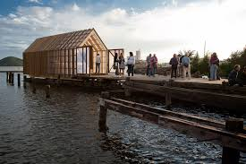 the boathouse trestykker 2012 archdaily