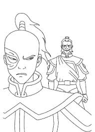 zuko admiral zhao avatar air bender colouring