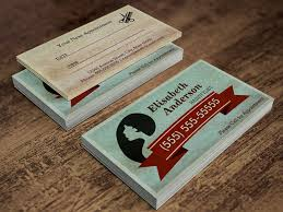 Business Cards Hair Stylist Hair Salon Hairstylist Vintage Appointment Card Hairstylists