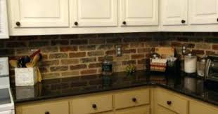brick kitchen backsplash painted brick backsplash ideas brick kitchen brick tile ideas