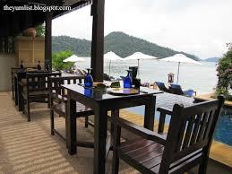 Japanese Style Dining Table Malaysia Jamu Bar Japanese Restaurant Pangkor Laut Malaysia The Yum List