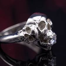 skull wedding rings skull engagement rings skull wedding rings custommade