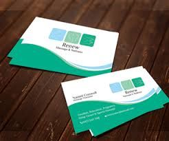 Massage Therapy Business Cards 74 Modern Serious Massage Business Card Designs For A Massage