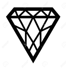 diamond clipart diamond clipart black and white u2013 101 clip art
