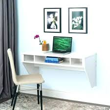 Small Wall Desk Wall Hanging Desk Wall Mount Computer Desk Hanging Wall Desk Lax