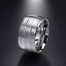 stainless steel mens rings polished stainless steel mens ring loxlux jewelry