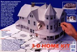3d home kit by design works 3 d home kit all you need to construct a model of your own home
