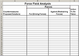 Analysis Template Excel Field Analysis Template In Excel
