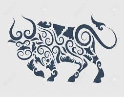 bull ornament royalty free cliparts vectors and stock