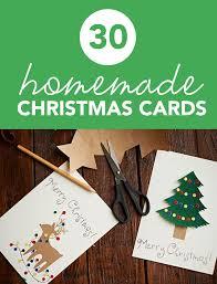 30 beautiful homemade christmas cards miss wish