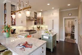 kitchens without islands tiny island ideas for the smart modern kitchen