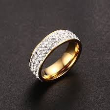 aliexpress buy vnox 2016 new wedding rings for women aliexpress buy vnox vintage wedding rings for women