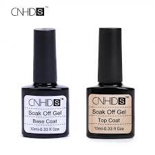 cure nail polish with uv l cnhids 2pc lot free shipping 8ml mlwomen top coat base coat peel off