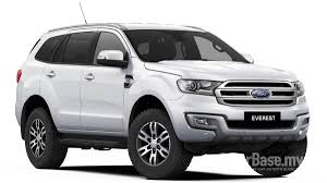 Ford Everest Facelift Ford Everest In Malaysia Reviews Specs Prices Carbase My