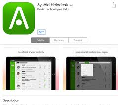 sysaid ipad app guide