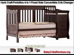 Sorelle Tuscany 4 In 1 Convertible Crib And Changer Combo Stork Craft Portofino 4 In 1 Fixed Side Convertible Crib Changer