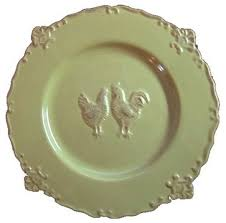 country french decorative plate traditional dinnerware french