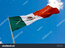 Flag That Is Green White And Red Green White Red Mexican Flag Waving Stock Photo 5829580 Shutterstock
