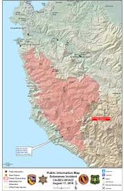 Point Lobos State Reserve Map by Soberanes Fire Updates 132 127 Acres 100 Contained 90 3 Kazu