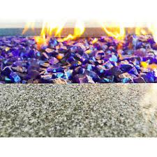 Fire Pit Glass Rocks by Element Large Royal Blue 1 2