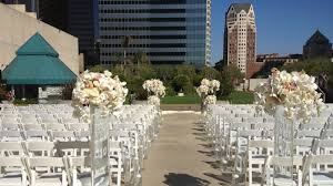 los angeles weddings outdoor wedding venues los angeles the westin bonaventure hotel
