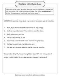 hyperbole examples definition u0026 worksheets kidskonnect